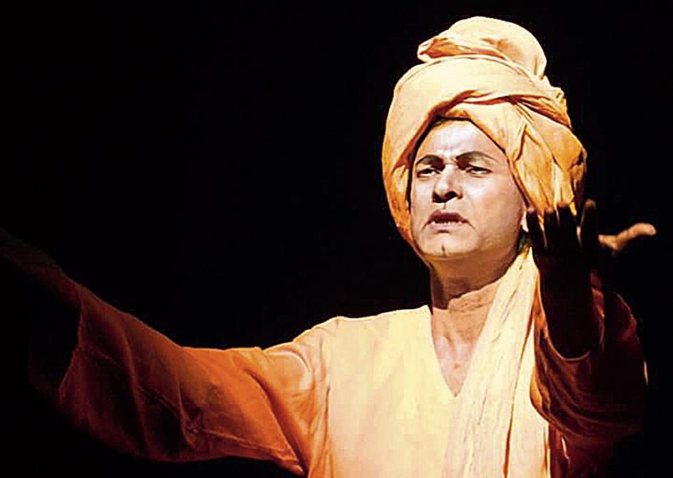 Bibhu Bhattacharjee's Swami Vivekananda is the inaugural play at the theatre festival in Agartala, Tripura
