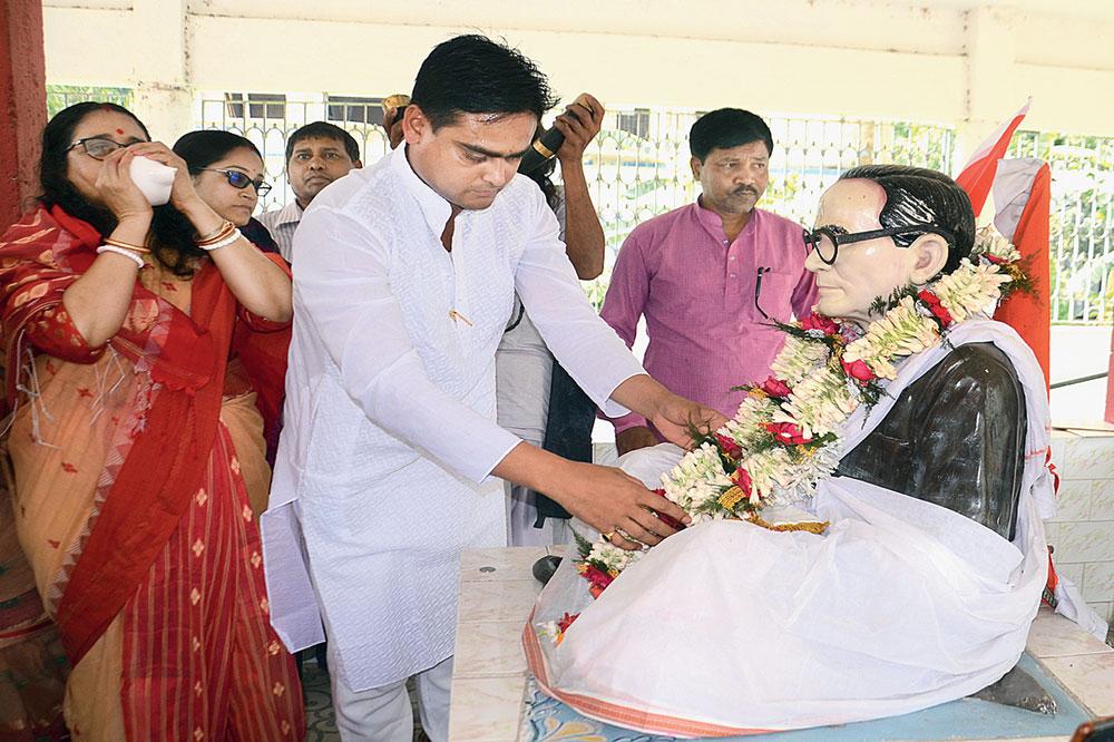 BJP candidate Shantanu Thakur